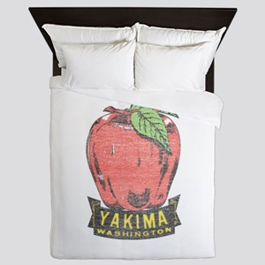 Vintage Yakima Apple Queen Duvet