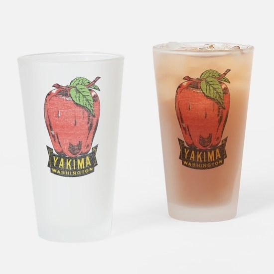 Vintage Yakima Apple Drinking Glass