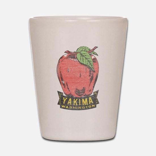 Vintage Yakima Apple Shot Glass