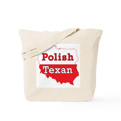 Polish Texan Poland Map Tote Bag