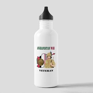 Afghanistan War Veteran Water Bottle