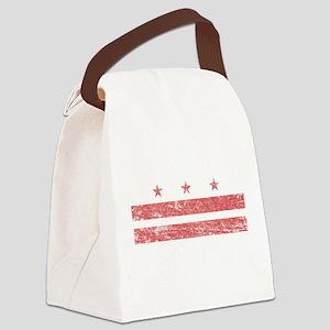 Vintage Washington DC Canvas Lunch Bag