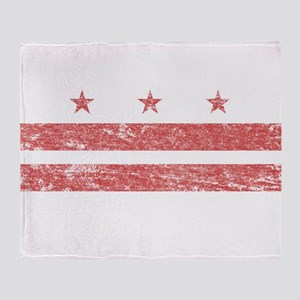 Vintage Washington DC Throw Blanket