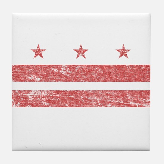 Vintage Washington DC Tile Coaster