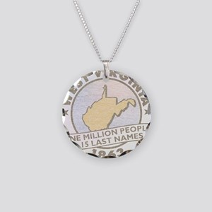 Faded West Virginia Necklace