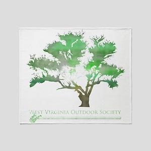West Virginia Outdoor Throw Blanket