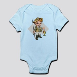 Little Fisherman Body Suit