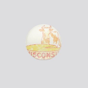 Faded Vintage Wisconsin Cheese Mini Button