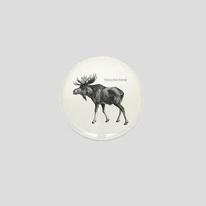 Yellowstone Mini Button