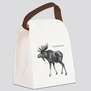 Yellowstone Canvas Lunch Bag