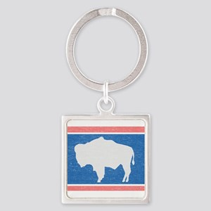 Wyoming State Flag Keychains