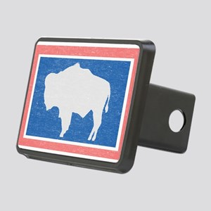 Wyoming State Flag Hitch Cover