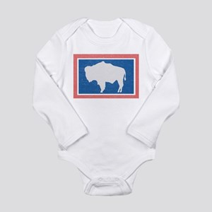 Wyoming State Flag Body Suit