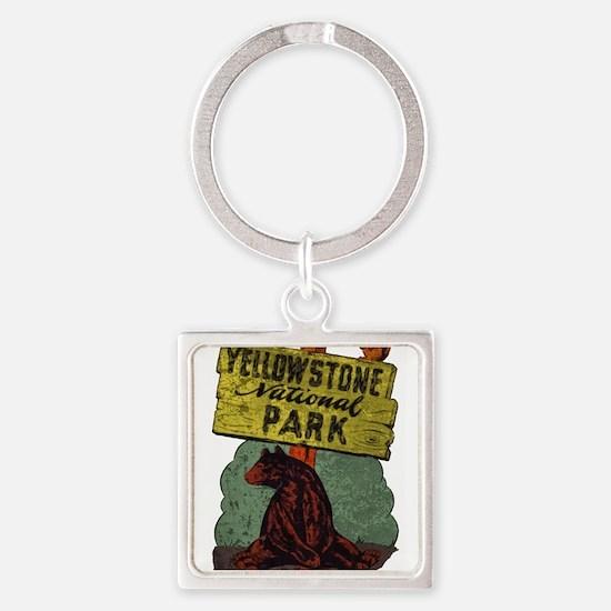 Vintage Yellowstone Keychains