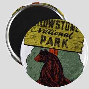 Vintage Yellowstone Magnet