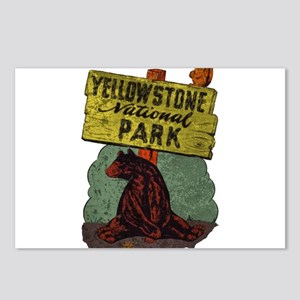 Vintage Yellowstone Postcards (Package of 8)
