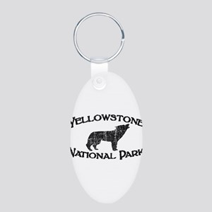 Yellowstone Wolf Keychains
