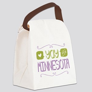 Yay for Minnesota Canvas Lunch Bag