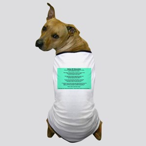 Rules Of Chocolate Dog T-Shirt