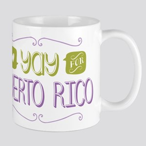 Yay for Puerto Rico Mug