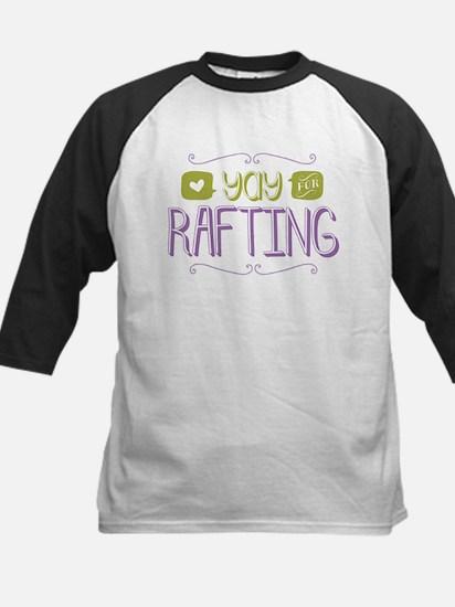 Yay for Rafting Baseball Jersey
