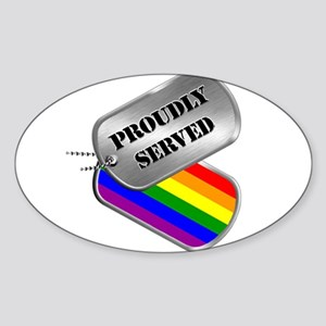 Proudly Served Sticker