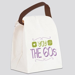Yay for The 60s Canvas Lunch Bag