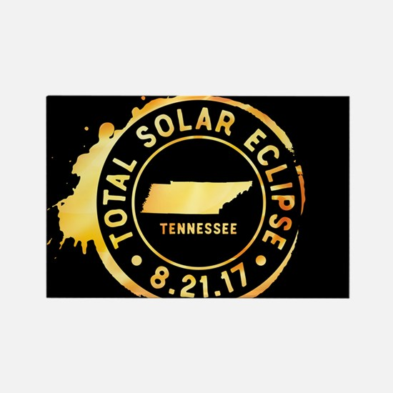 Eclipse Tennessee Rectangle Magnet