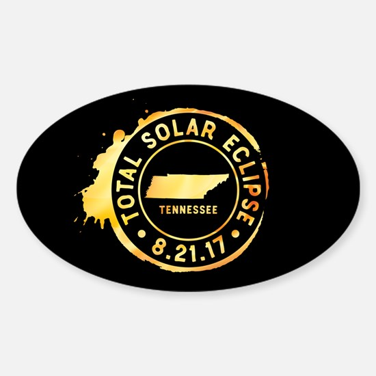 Eclipse Tennessee Sticker (Oval)