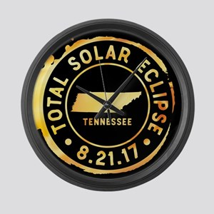 Eclipse Tennessee Large Wall Clock