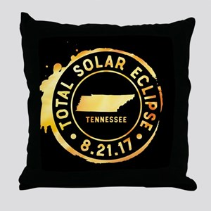 Eclipse Tennessee Throw Pillow