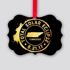 Eclipse Tennessee Picture Ornament
