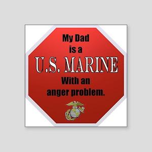 USMC Daughters Sticker