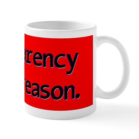 Beverages Transparency Mugs