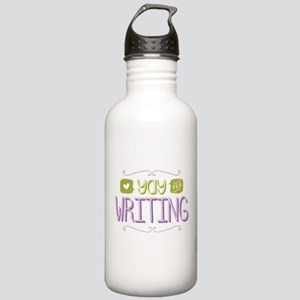 Yay for Writing Water Bottle