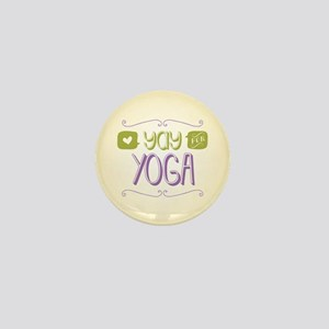 Yay for Yoga Mini Button