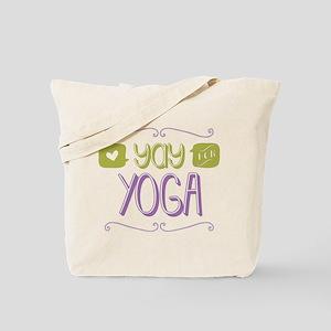 Yay for Yoga Tote Bag