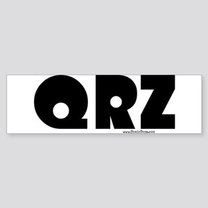 QRZ Bumper Sticker