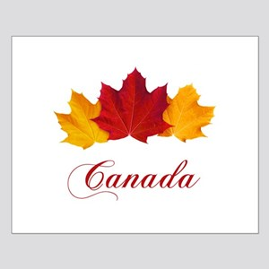 Canadian Maple Leaves Small Poster