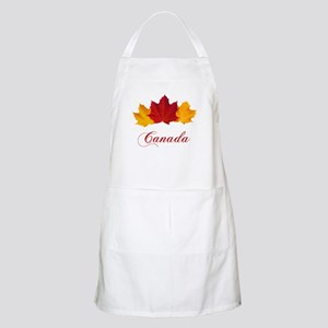 Canadian Maple Leaves Apron