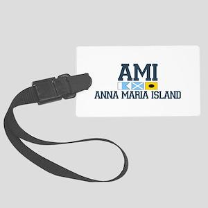 Anna Maria Island - Varsity Dersign. Large Luggage