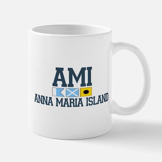 Anna Maria Island - Varsity Dersign. Mug