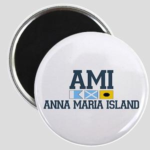 Anna Maria Island - Varsity Dersign. Magnet