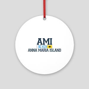 Anna Maria Island - Varsity Dersign. Ornament (Rou