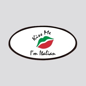 Kiss Me I'm Italian Patches