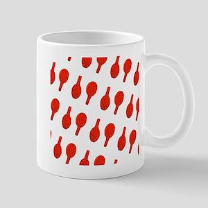 Red I Flip Over Tennis Menagerie Mug