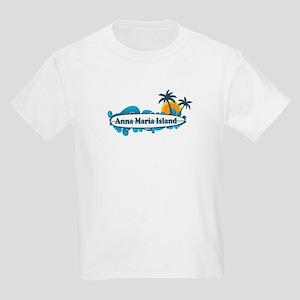 Anna Maria Island - Surf Design. Kids Light T-Shir