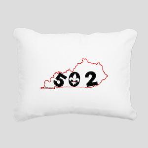 Kentucky Rectangular Canvas Pillow