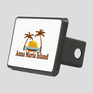 Anna Maria Island - Palm Trees Design. Rectangular