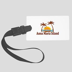 Anna Maria Island - Palm Trees Design. Large Lugga
